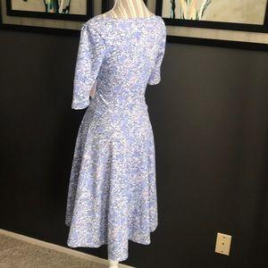 LuLaRoe Dresses - 🔥 SALE - LuLaRoe Nicole dress, floral, pastels